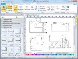 electrical circuit diagram drawing freeware circuit and