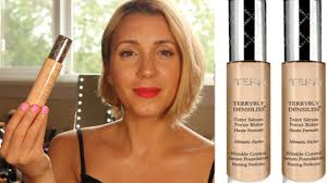 by terry terrybly densiliss wrinkle control serum foundation 8 5 by terry densiliss foundation review youtube