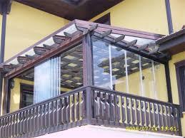pergola balkon glass balcony pergola application cetin katlanir balkon