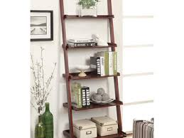 5 Shelf Bookcase Espresso 60 Ladder Shelves Walmart Riverridge Ladder Shelf With Towel Bars