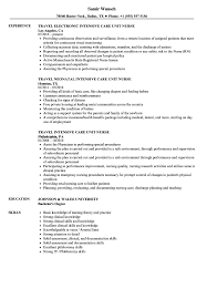 nursing resume with experience intensive care unit nurse resume sles velvet jobs