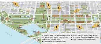 Map Dc Guide To Visiting The National Mall Free Tours By Foot