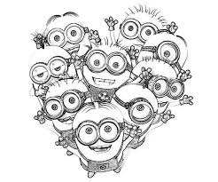 8 images easter printable coloring pages minions minion