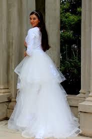 modest wedding gowns alexandra tznius modest wedding dress with sleeves
