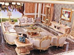 Royal Furniture Living Room Sets New Baroque Classic Coffee Table Royal Palace Carved