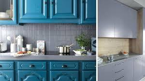 repeindre des meubles de cuisine en bois peinture meubles de cuisine peinture cuisine patine jaune orange