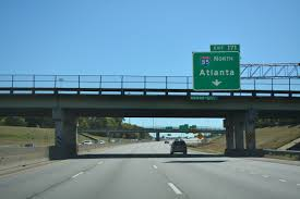 Atlanta Bypass Map by Interstate Guide Interstate 85