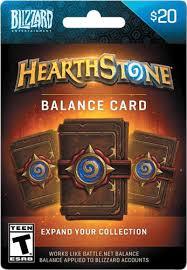 battlenet prepaid card blizzard 20 hearthstone balance card hearthstone blizzard balance