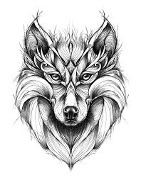 click the wolf zentangle coloring pages to view printable version