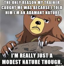 Confession Bear Meme - pokemon confession bear meme on imgur