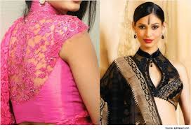 saree blouse styles high neck saree blouse designs to per your style