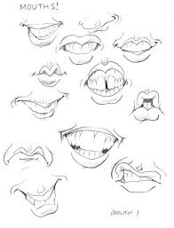 videos for how to draw caricatures drawing the mouth
