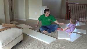 Eket Vs Kallax by Watch Me Build An Ikea Kallax Bookshelf Youtube