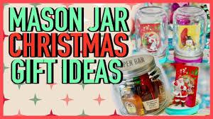 Mason Jar Christmas Gift Diy Christmas Gifts Mason Jar Gifts Youtube