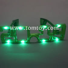 led new years 2019 led new year light up glasses tomtoy