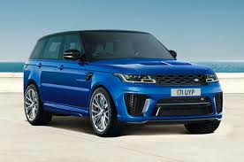 White Range Rover With Red Interior New Range Rover Svr Overview Land Rover
