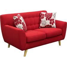Diamond Tufted Sofa Scarlett Tufted Sofa Set Rouge Red 2 Pc Diamond Sofa Modern