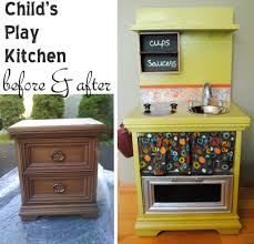 modern and retro wood play kitchens for toddlers compact wood