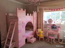 Princess Castle Bunk Bed Princess Castle Theme Bunk Or Cabin Bed Bedtime Bedz