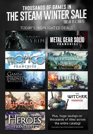 news the steam winter sale starts now