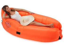 Air Filled Sofa by Airfun Infaltable Lounger No Airpump Needed Air Filled Sofa