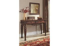 Dark Wood Sofa Table North Shore Sofa Console Table Ashley Furniture Homestore