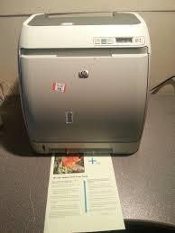 hp color laserjet 2605dn printer usb network test page ok
