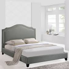 come to excited diy project grey upholstered headboard today