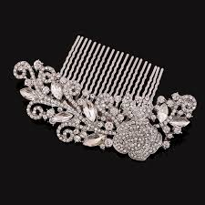 vintage hair combs fashion wedding hair accessories pearl rhinestone vintage hair