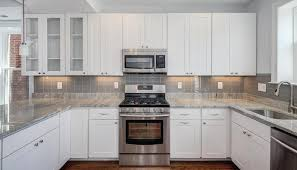 granite kitchen backsplash river white granite white cabinets backsplash ideas for the home