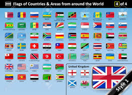 Country Flags England Detailed Flags Of Countries And Areas From Around The World