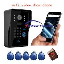 front door video camera new wifi video door phone doorbell wireless wifi wireless video