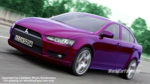 mitsubishi purple spy photos high performance mitsubishi lancer