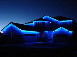 Blue Led String Lights by Outdoor Lights Best Le Ft V Ac Led Lights Kit K