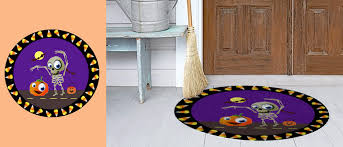 halloween rug home furnishings decor u2014 michelle foligno