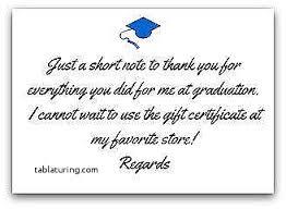 graduation thank you notes graduation thank you note unique exle cards photo luxury