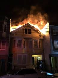 North Bay Fire Control District by Fire In Sf U0027s Richmond District Injures 5 Displaces 25 Sfgate