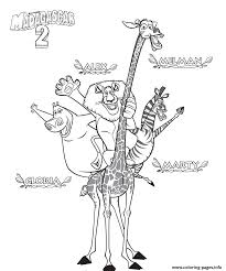 madagascar coloring pages printable 28 images printable