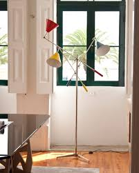 bright ideas a modern floor lamp to add color to your home decor
