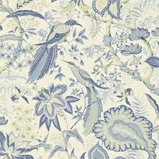 sanderson wallpaper suva blue