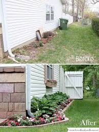 make a side yard makeover for improving home s curb appeal
