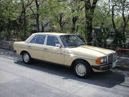 mercedes 230e mercedes 230e w123 1985