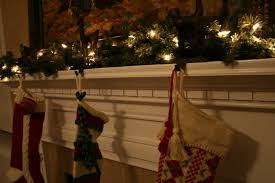 fascinating lighted garland for mantle 72 on decoration ideas with