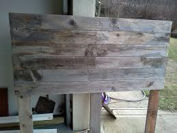 diy barnwood headboard the domesticated megan