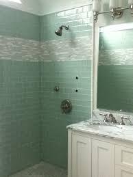 Glass Tile Installation Custom Bathroom Remodeling Mist Glass Tile Installation