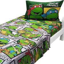 Teenage Mutant Ninja Turtles Twin Bed Set by Teenage Mutant Ninja Turtles Twin Sheets Trust Ninja Bedding