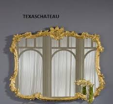 Large Arched Wall Mirror Large Ornate Antique Gold Arched Wall Mirror French Regency