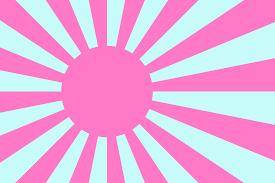 Japan War Flag Vaporwave Imperial Japan Vexillology
