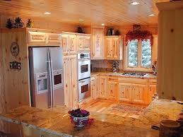 Rustic Hickory Kitchen Cabinets Rustic Kitchen Cabinets With Large Capacities We Bring Ideas
