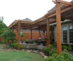 raleigh front porch pergola deck traditional with lattice privacy